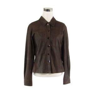 D.Terrell ltd. leather vintage jacket M